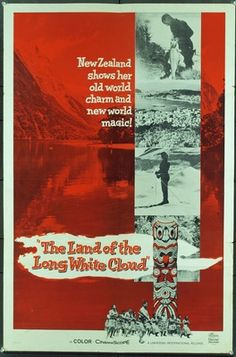 Original  movie poster for LAND OF THE LONG WHITE CLOUD, THE (1966) 3370 Original Universal Pictures One Sheet Poster (27x41).  Folded.  Very Good Condition. Offered by Kirby McDaniel MovieArt of Austin, Texas.