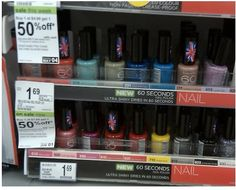HOT RIMMEL COUPON: Nail polish ONLY $0.27 at Walgreens through 6/1. . Print your coupon NOW!!