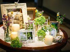 Vress et Rose(@vressetrose) 「特別な1日はトータルでコーディネートのご提案【ウェルカムスペース】 #wedding #entrance #instaflower #instawedding #candle #novarese…」