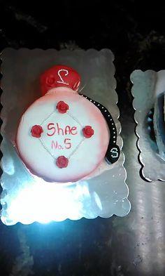 Sharons bday cake i made:)