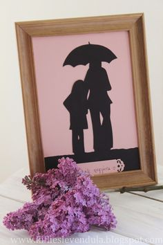Anyák napi árnykép Crafts For Kids, Day, Frame, Mothers, Blog, Painting, Children, Home Decor, Crafts For Children
