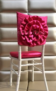Set of  2 chair covers,Bride and Groom chair covers,Wedding chair cover, chiavari chair cover by FloraRosaDesign on Etsy https://www.etsy.com/listing/182884663/set-of-2-chair-coversbride-and-groom