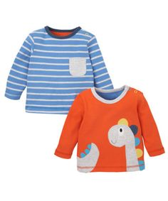 Mothercare T-Shirts - 2 Pack - tops & t-shirts - Mothercare