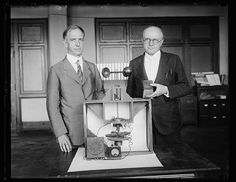 Thinker; Scientists for Uncle Sam awarded Magellan Gold Medal. Dr. L.J. Briggs, left, Assistant Director and Dr. Paul R. [Heyl?], Chief of the Sound … Thinkers