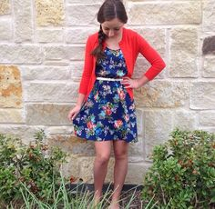 Super adorable dress for Spring! (Brooklyn and Bailey)