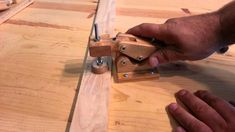 """Woodworking - homemade """"hold down toggle clamps"""""""