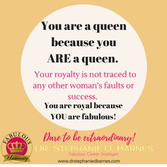 You can crown yourself, you know?  #fabulousuniversity