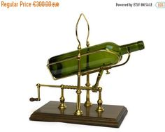 10% Off Wine Decanting Cradle. French Wine by LeBonheurDuJour