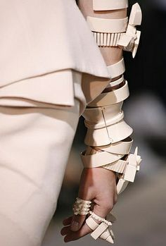 Givenchy...now that's some serious accessorizing!