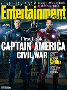 Civil War - Entertainment Weekly cover                                                                                                                                                     Plus