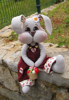 Christmas gift christmas doll textile doll soft toys new year doll bear bear christmas bear soft toy new year toys new year gift rag doll Sewing Art, Sewing Dolls, Sewing Crafts, Sewing Projects, Felt Crafts, Easter Crafts, Christmas Crafts, Sewing Patterns For Kids, Doll Patterns