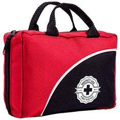 First Aid Kit – 150 Piece – for Car, Travel, Camping, Home, Office, Sports, Survival | Complete Emergency Bag Fully stocked with high Quality Medical Supplies – The Savers Spot Emergency First Aid Kit, Emergency Bag, Emergency Preparedness Kit, Emergency Supplies, Car Travel, Travel Office, Baby Diaper Bags, Survival Gear, Survival Prepping