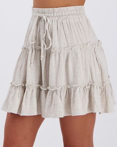 Lupin Skirt by Mooloola Shop Mooloola Lupin Skirt at City Beach. Australia's leading surf, skate, street and fashion retailer since 1985 Cute Skirt Outfits, Cute Skirts, Mini Skirts, Summer Dresses For Women, Summer Outfits, Summer Beach Dresses, Vegas Outfits, Birthday Outfit For Women, Beach Skirt