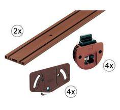 Kit de montagem de portas corr | AKI