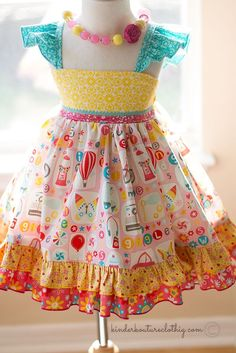 Sugar Girl Dress - Kinder Kouture Boutique Clothing - 1