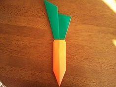 """A gyümölcsök és zöldségek a fold, hogyan kell, hogyan lehet """"origami"""""""