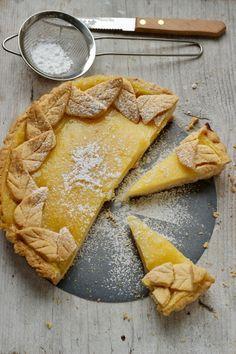 Oggi a La Prova del Cuoco: Torta con crema al limone
