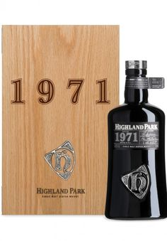 Highland Park 1971 single malt whisky available from Whisky Please.