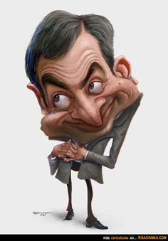 Caricatura de Mr. Bean