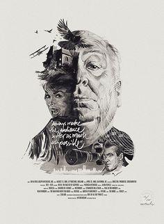 Julian Rentzsch, Steffen Heidemann y Viktoria Klein crean retratos de los más grandes directores de cine de la historia con sus propias películas.