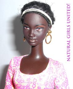 GREAT website for Barbie-type dolls of color! All syles, all shades... LOVE!