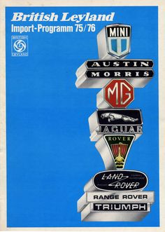 Range Rover, Badges, Classic Cars, British, Signs, Vehicles, Badge, Vintage Classic Cars, Shop Signs