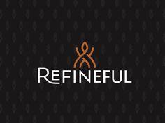 Refineful Soap Brand Logo by Jason Feltz Icon Design, Logo Design, Logo Branding, Logos, Adidas Logo, Soap, A Logo, Soaps, Legos