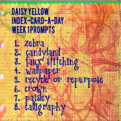 creative prompts - create explore paint
