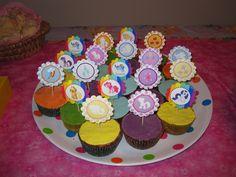 My little pony cupcakes - Ana Cruz
