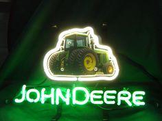 John Deere Neon Sign