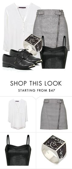 """""""Elijah Inspired Outfit"""" by fangsandfashion ❤ liked on Polyvore featuring Zara, Topshop, MANGO, Meadowlark and River Island"""