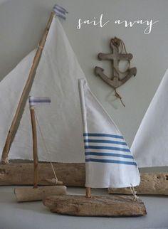 beachcomber driftwood boats coastal style beach house decor