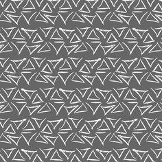 Woodland Triangles fabric by mrshervi on Spoonflower - custom fabric