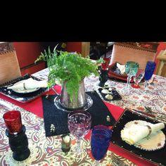 Gypsy table setting