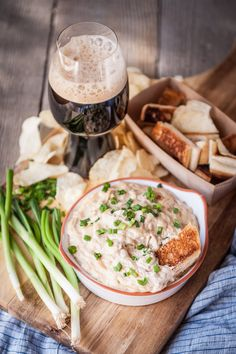 Slow Cooker Stout Caramelized Onion Dip I don't do resolutions. That's wrong. I do. Every year. Just not the ones that normal people do. Mineare neverabout giving things up, that's desolate. Resolutions should give you hope about the future, not dread. I make resolutions that make me want to plow forward into the new year.…