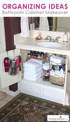 Ideas organizar tu baño