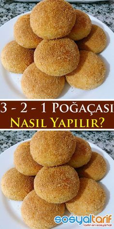 #poğaça #hamurişi #poğaçatarifleri #sosyaltarif Sweets Recipes, Cookie Recipes, Salty Foods, Yummy Food, Tasty, Breakfast Items, Sweet And Salty, Desert Recipes, No Cook Meals
