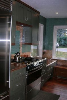 Kitchen Tiles Lincoln arabesque tile backsplash, cottage, kitchen, lollygag beach house