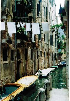 Canals and Laundry