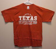 Just $18.99 & FREE SHIP !! University of Texas Longhorns T-Shirt NEW/NWT Burnt Orange Asstd Szs NCAA Tee #Gildan #TexasLonghorns #UniversityOfTexas #Texas #Longhorns
