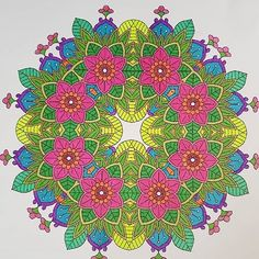 Flower Mandala Coloring Page 265    Another beautiful colored piece shared by @robyntrouptsidis ❤️  Thank you so much😍😍😍 無料ぬりえページダウンロードはプロフィールのリンクから/Get Your Free Printable Coloring Pages From Our Website, Link in The Bio⬇️  🖍 @coloringbymiki🖍    #ぬりえ #イラスト #zenart #coloring #lineart #illustration #instaart #art #アート #coloringpage #coloringforadults #コロリアージュ #coloriage #coloringbook #relaxing #大人の塗り絵 #おとなのぬりえ #塗り絵 #adultcoloring #mandala #mandalas #mandalaart #kaleidoscope #マンダラ #曼荼羅