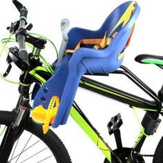 AIBAB Asiento De Seguridad para Beb/é En Bicicleta Asiento Trasero para Ni/ños Almohadilla De Silla Infantil Accesorios De Bicicleta para Ni/ños