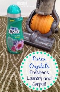 Purex Crystals Freshens Laundry and Carpet! (Win 2 Free!) - Mission: to Save