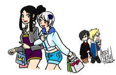Yukinerva and Stingue / Yukino x Minerva / Sting x Rogue Fairy Tail Sting, Fairy Tail Kids, Fairy Tail Couples, Fairy Tale Anime, Fairy Tales, Anime Nerd, Manga Anime, Jerza, Fairytail
