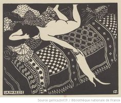 La paresse : [estampe] / Félix Vallotton - 1896