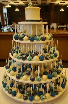 Cake-Pops for a Wedding*