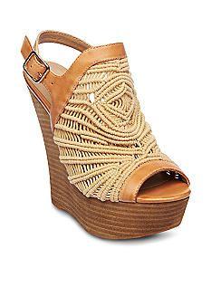 Steven Jackks Slingback Wedge #belk #shoes