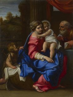 'Holy Family with the Infant Saint John the Baptist ('The Montalto Madonna')' is one of Annibale Carracci's most celebrated and copied easel paintings, and one of the first to apply an imposing Baroque composition to an intimately-scaled picture of the Madonna