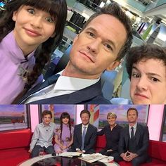 Great to catch up with @malinaweissman and @louis.hynes this morning in Manchester, England for #bbcbreakfast. Hope to get to spend more time with these two soon! #unfortunate
