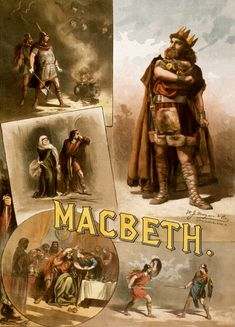 "An 1884 broadside poster for Thomas W. Keene's ""Macbeth."" New York actor Keene was a well-known interpreter of Shakespeare in the century. Macbeth William Shakespeare, The Tragedy Of Macbeth, Lady Macbeth, Shakespeare Plays, Macbeth Play, Macbeth Witches, Macbeth Poster, The Scottish Play, Globe Theatre"